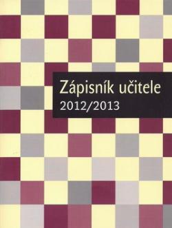 Zápisník učitele 2012/2013