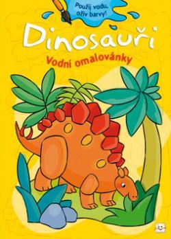 Dinosauři Vodní omalovánky