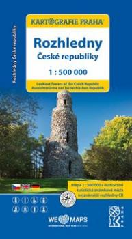 Rozhledny České republiky 1:500000