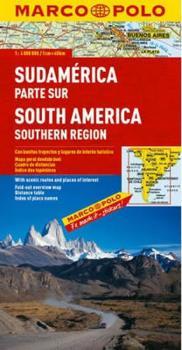 Jižní Amerika - jih/mapa