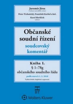 Občanské soudní řízení Kniha I.