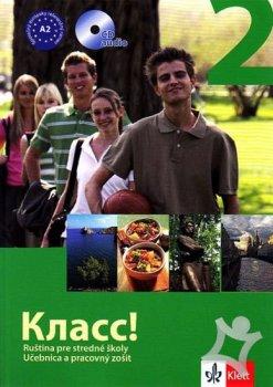 Klass! 2 – učebnica s pracovným zošitom 2CD - balíček