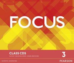 Focus BrE 3 Class CDs