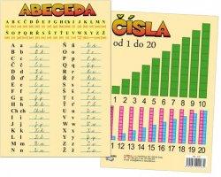 Tabulka A5 - Abeceda a čísla