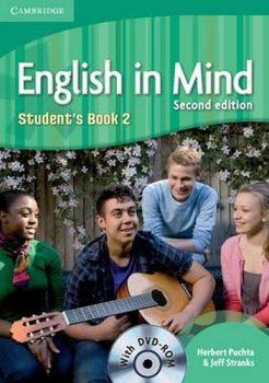 English in Mind 2nd Edition Level 2: Student´s Book + DVD-ROM