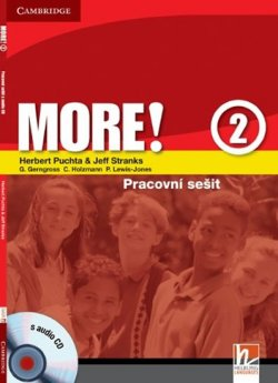More! Level 2: Cz Workbook with Audio CD
