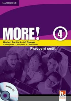 More! Level 4: Cz Workbook with Audio CD