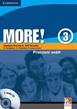 More! Level 3: Cz Workbook with Audio CD