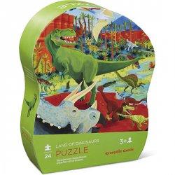 Mini Puzzle: Dinosaurs/Dinosauři (12 dílků)