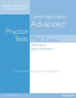 Cambridge Advanced Practice Tests Plus New Edition Students´ Book with Key