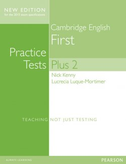 Cambridge First Practice Tests Plus New Edition Students´ Book with Key
