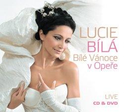 Lucie Bílá - Bílé Vánoce v Opeře CD+DVD