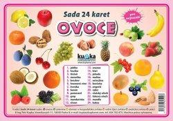 Sada 24 karet - ovoce (A5)