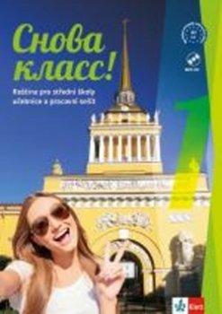 Snova Klass! 1 (A1) – učebnice s pracovním sešitem + CD MP3 + azbuka