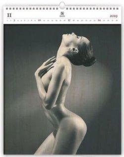 Luxusní dřevěný obrazový kalendář Woman