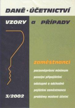 Daně, účetnictví 03/2002  Zaměstnanci