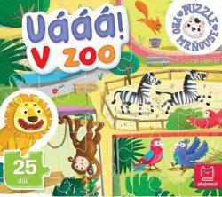 Uááá! V zoo - Puzzle