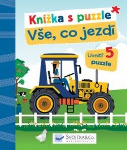 Knížka s puzzle Vše, co jezdí