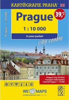 Prague - 1:10 000 in your pocket city centre