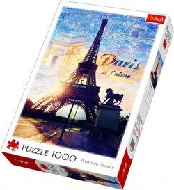 Paříž za úsvitu: Puzzle 1000 dílků