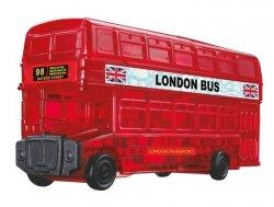 Londýnský autobus: 3D Crystal puzzle 53 dílků