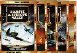Bojiště 2. sv.války 9DVD