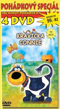 Pohádkový speciál kravičky Connie 4DVD