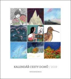Cesty domů - nástěnný kalendář 2019