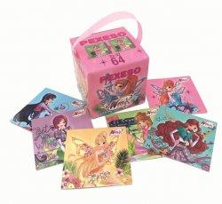 Winx Club - pexeso v krabičce s úchypem