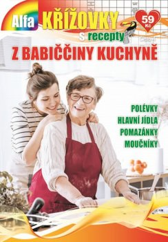 Křížovky s recepty 4/2018 - Z babiččiny kuchyně