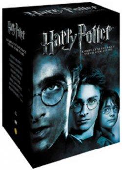Harry Potter kolekce roky 1-7b.