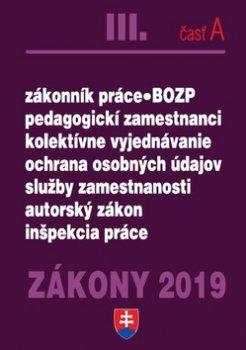 Zákony 2019 III. časť A