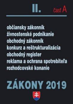 Zákony 2019 II. časť A