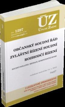 ÚZ 1297 Občanský soudní řád, Zvláštní řízení soudní, Rozhodčí řízení