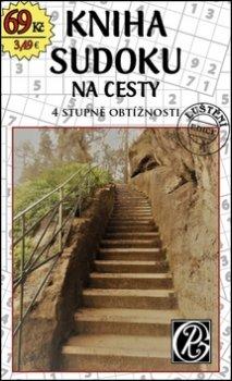 Kniha sudoku na cesty - 4 stupně obtížnosti