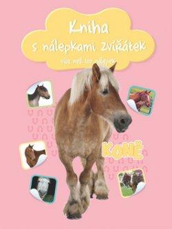 Kniha s nálepkami zvířátek Koně