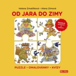 OD JARA DO ZIMY - Puzzle, básničky, omalovánky, kvízy