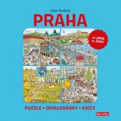 PRAHA - Puzzle, omalovánky, kvízy