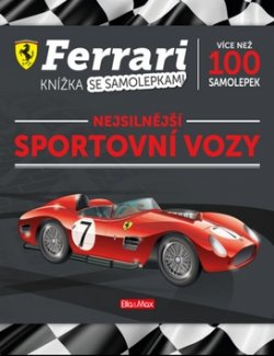 FERRARI, sportovní vozy - Kniha samolepek