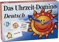 Deutsch Spielend Lernen: Das Uhrzeit-domino