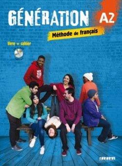 Génération A2: učebnice + pracovní sešit + CD mp3+ DVD /komplet/
