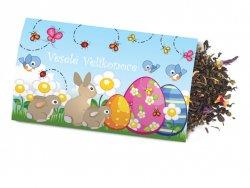Pohled s dárkem : Velikonoce/Králici