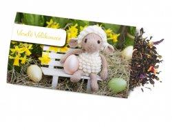 Pohled s dárkem : Velikonoce/Ovečka