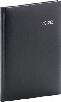 Týdenní diář Balacron 2020, černý, 15 ×