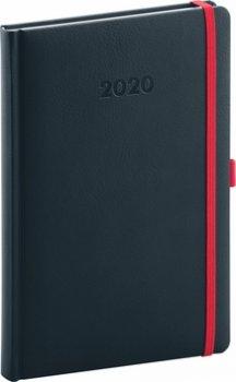 Týdenní diář Luzern 2020, indigový 15 ×