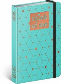 Týdenní diář Atomium – Think of me 2020,