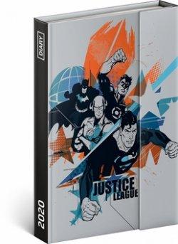 Týdenní magnetický diář Justice League 2