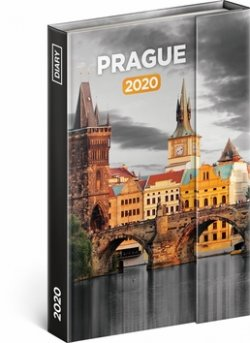 Týdenní magnetický diář Praha 2020, 11 ×