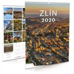 Kalendář 2020 - Zlín - nástěnný