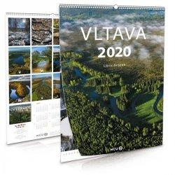 Kalendář 2020 - Vltava - nástěnný